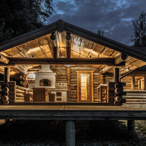 Ekologiškų rąstinių namų statyba