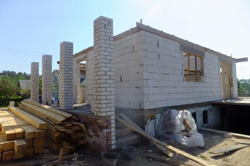 Mūrinių namų statyba